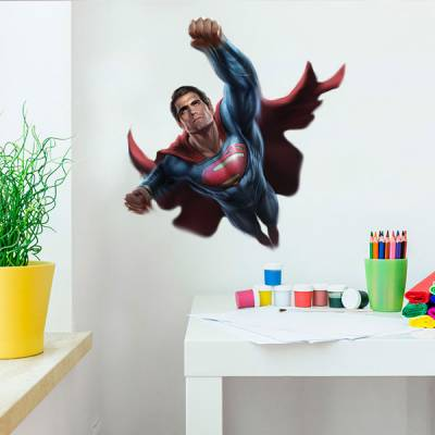 Adesivo de Parede Super Man 2