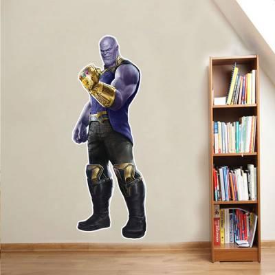 Adesivo De Parede Marvel Thanos