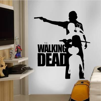 Adesivo de Parede Séries The Walking Dead 02