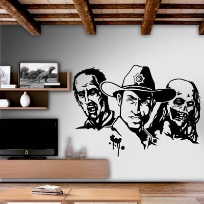Adesivo de Parede The Walking Dead 04