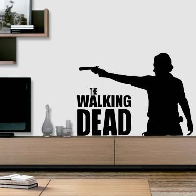 Adesivo de Parede Séries The Walking Dead