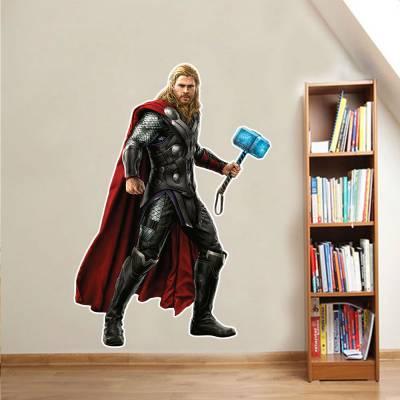 Adesivo De Parede Marvel Thor 03