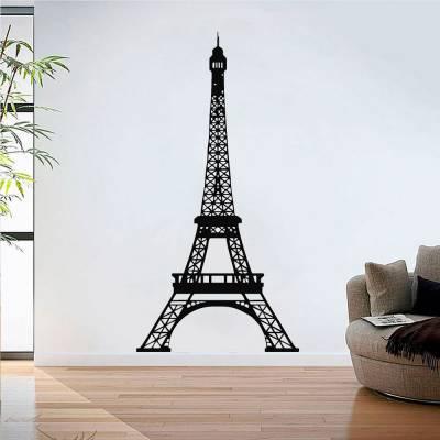 Adesivo De Parede Torre Eiffel 03