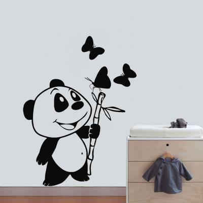 Adesivo De Parede Ursinho Panda