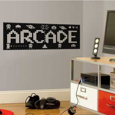 Adesivo de Parede Jogo Arcade