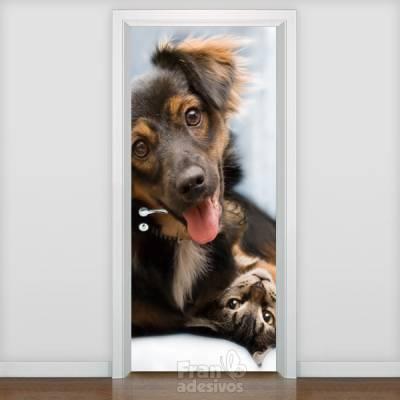 Adesivo de porta Animais 005