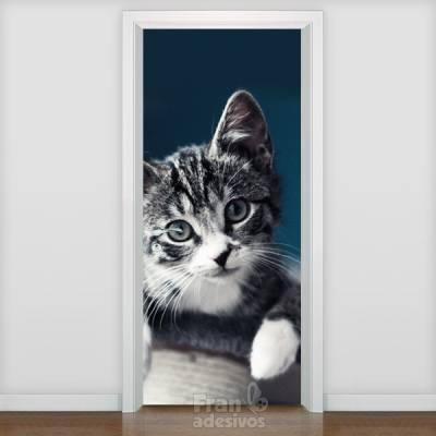 Adesivo de porta Animais 006
