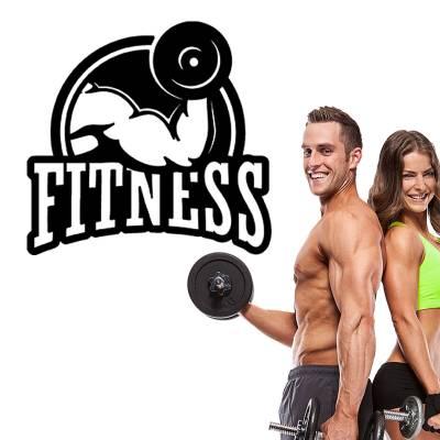 Adesivo Decorativo Diversos Academia Fitness