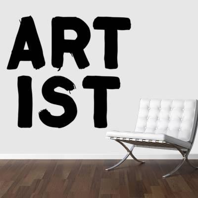Adesivo De Parede Criativos Artistas Artist