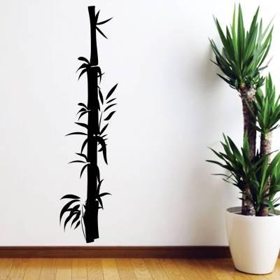 Adesivo De Parede Diversos Arvore Bambu