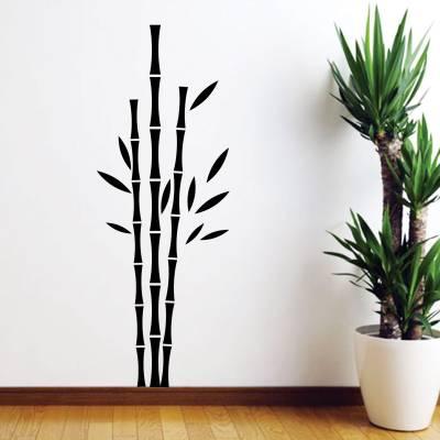 Adesivo De Parede Decorativo Arvore Bambuzal