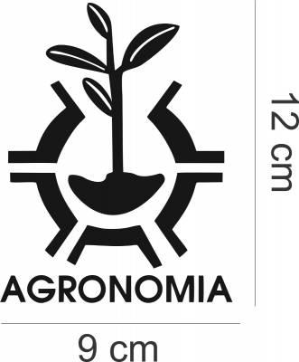 Adesivo de Carro E Moto Profissões Agronomia