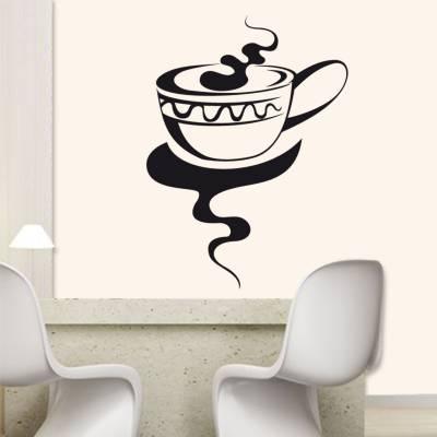Adesivo De Parede Cozinha Xícara De Café