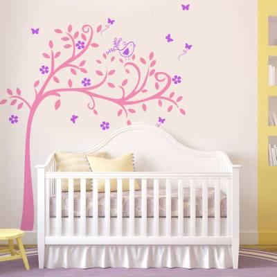 Adesivo de Parede Infantil Árvore do encanto 2