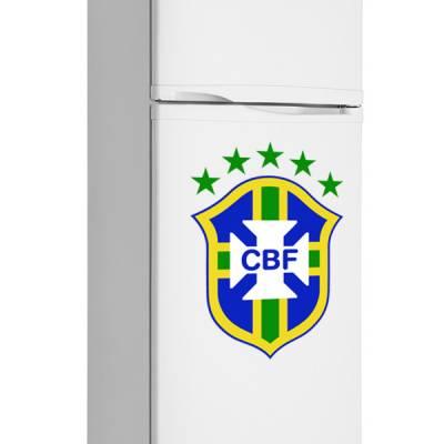 Adesivo de Geladeira Escudo do Brasil
