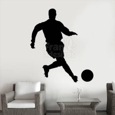 Adesivo de parede - Jogador de Futebol