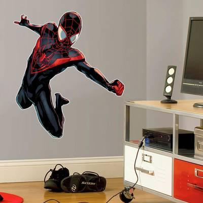 Adesivo De Parede Misa Morales Spider Man