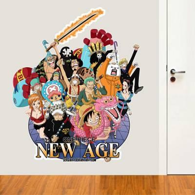 Adesivo de Parede Animes One Piece New Age