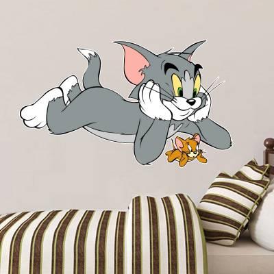 Adesivo De Parede Infantil Tom E Jerry