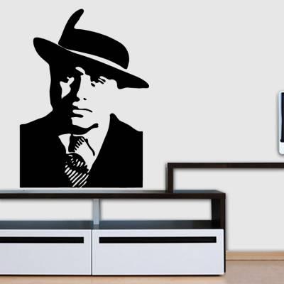 Adesivo de Parede Filmes Retrô Al Capone