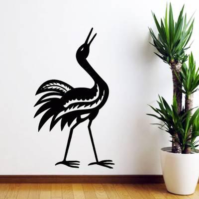 Adesivo De Parede Animais Flamingo Aves