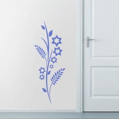 Adesivo Decorativo de Parede Floral 56