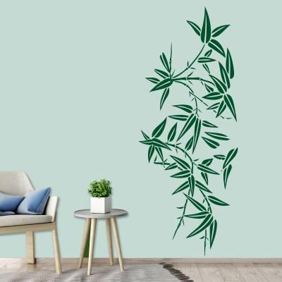 Adesivo de Parede Arvores Floral Bambu
