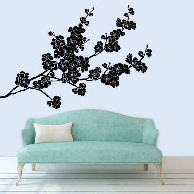 Adesivo De Parede Florais Sakura