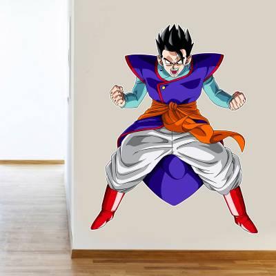 Adesivo De Parede Anime Gohan Dragon ball