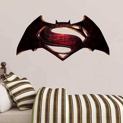 Adesivo de Parede Filmes Super Heróis Batman Vs Superman
