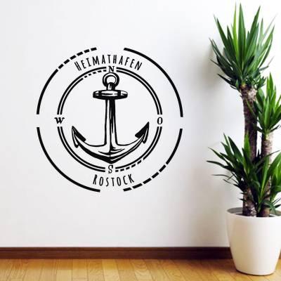 Adesivo De Parede Diversos Logo Marinha