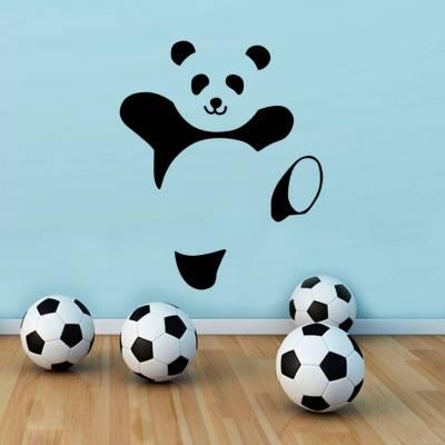 Adesivo De Parede Animais Panda Feliz