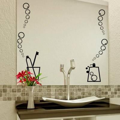 Adesivo para Banheiro Sabão e Espuma