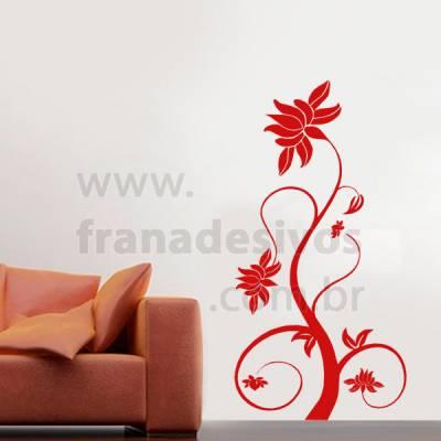 Adesivo de Parede Floral modelo 25