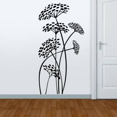 Adesivo Decorativo de Parede Floral 37