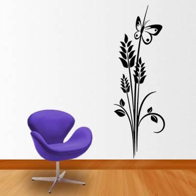 Adesivo Decorativo de Parede Floral 39