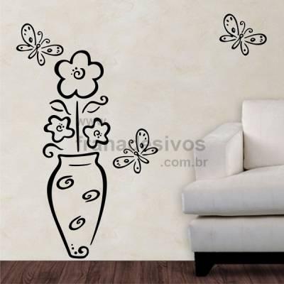 Adesivo Decorativo de Parede Floral 05