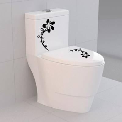 Adesivo Decorativo para Vaso Acoplado Floral