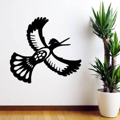 Adesivo Decorativo Animais Pássaro Voando