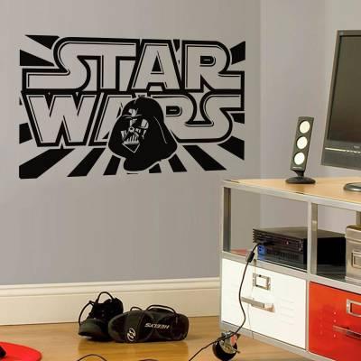 Adesivo De Parede Filmes Star Wars Retro