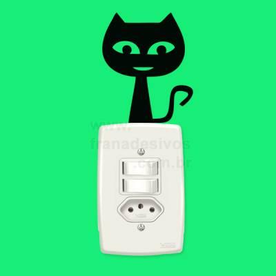 Adesivo para interruptor gato / gatinho 3