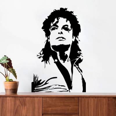 Adesivo de Parede Michael Jackson Silhueta