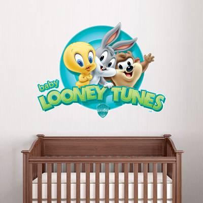 Adesivo de Parede Infantil Baby Loney Toonies
