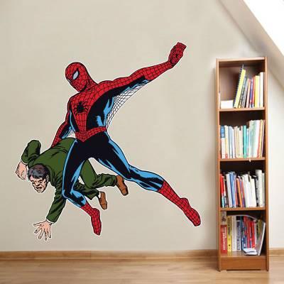 Adesivo De Parede Homem Aranha Retrô