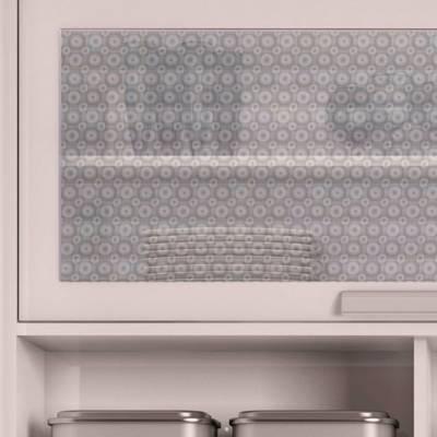 Adesivo Decorativo Jateado Micro Esferas Para Vidro, Box, Janela, Porta 50cm De Largura