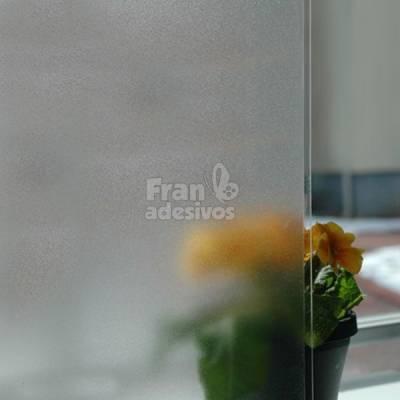Adesivo Jateado para vidros, portas e janelas