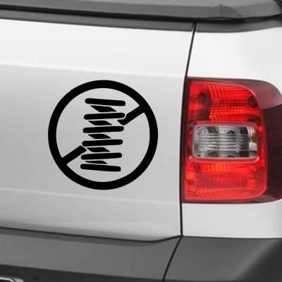 Adesivo de Carro E Moto Diversos Amortecedor