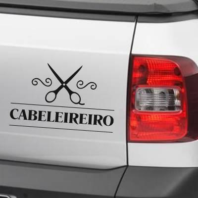 Adesivo de Carro E Moto Profissões Cabeleireiro