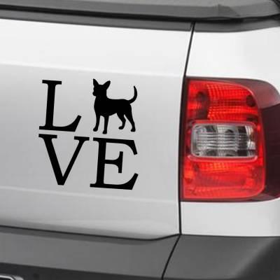 Adesivo De Carro E Moto Animais Chihuahua