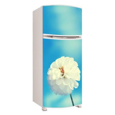 Adesivo para Envelopamento de Geladeira para Porta Flores 1